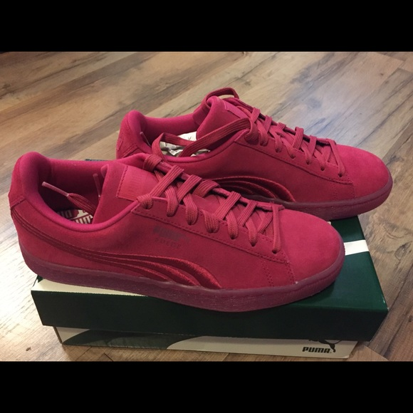 Iced Men's Badge Suede Classic Nwt Vivacious Sneakers P0w8ONkXn
